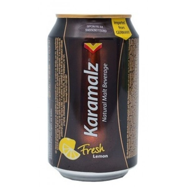Karamalz Fresh Lemon. Алк. 0% 0,33 жесть
